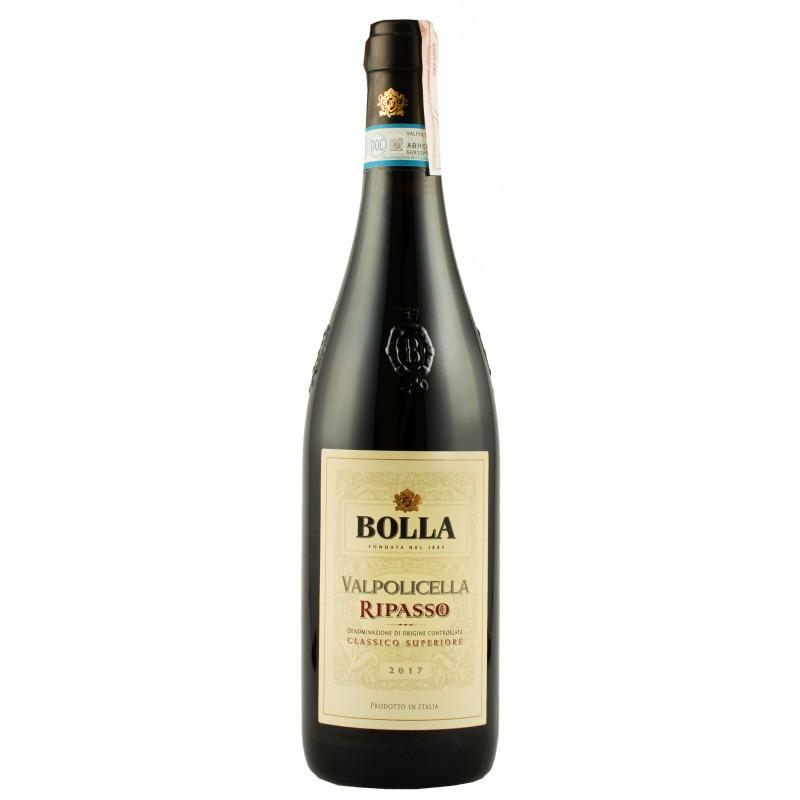 """Вино """"Valpolicella Ripasso Classico DOC 2010"""" красное сухое 0,75л 13.5% (Италия,Верона,ТМ""""Bolla"""")"""