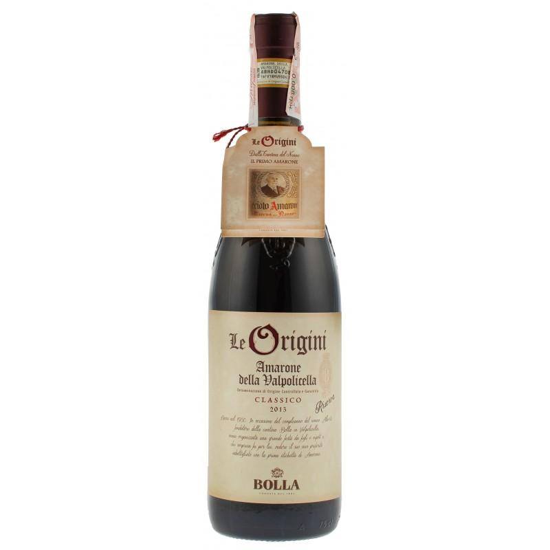 """Вино """"Amarone Della Valpolicella Classico Le Origine DOCG"""" 0,75л TM """"Bolla"""""""