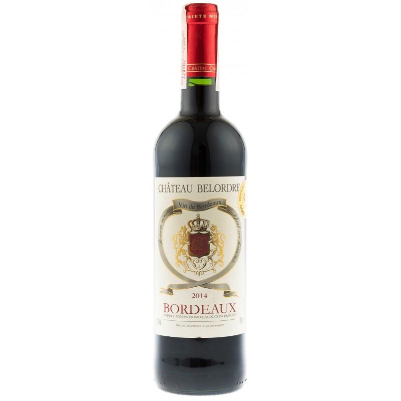 Купити Вино Chateau Belordre  червоне сухе Франція Бордо