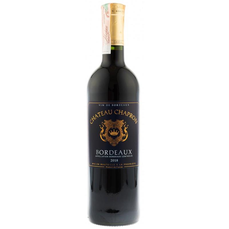 Купить Вино Chateau Chapron красное сухое Франция Бордо
