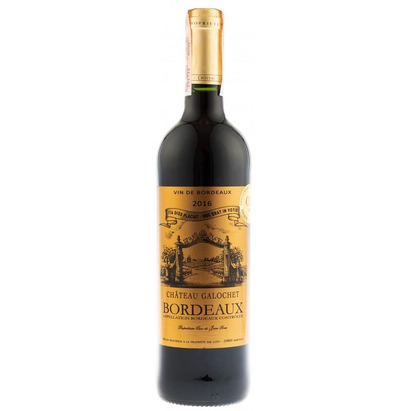 Купить Вино Chateau Galochet  красное сухое Франция Бордо