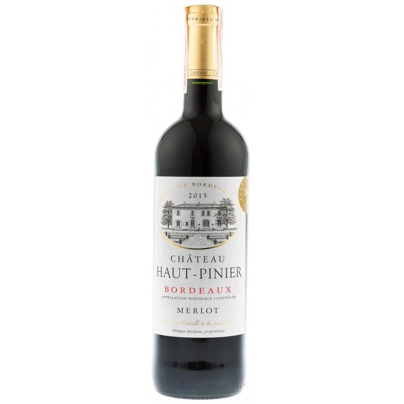 Купити Вино Chateau Haut Pinier  червоне сухе Франція Бордо