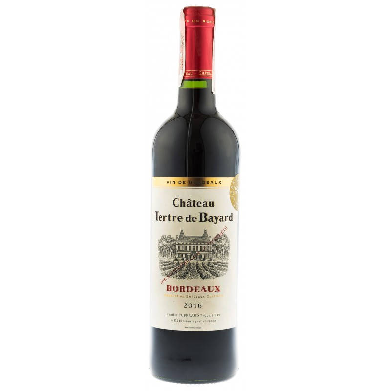 Купить Вино Chateau Tertre de Bayard  красное сухое Франция Бордо Chateau Peyrefaure