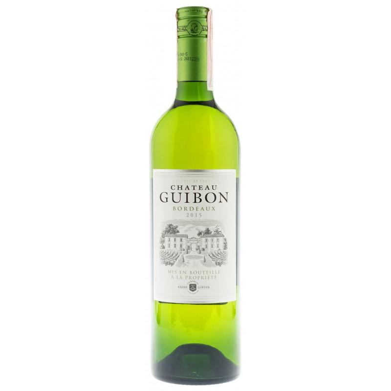 Купити Вино Chatau Guibon  белое сухое Франція Бордо  Andre Lurton