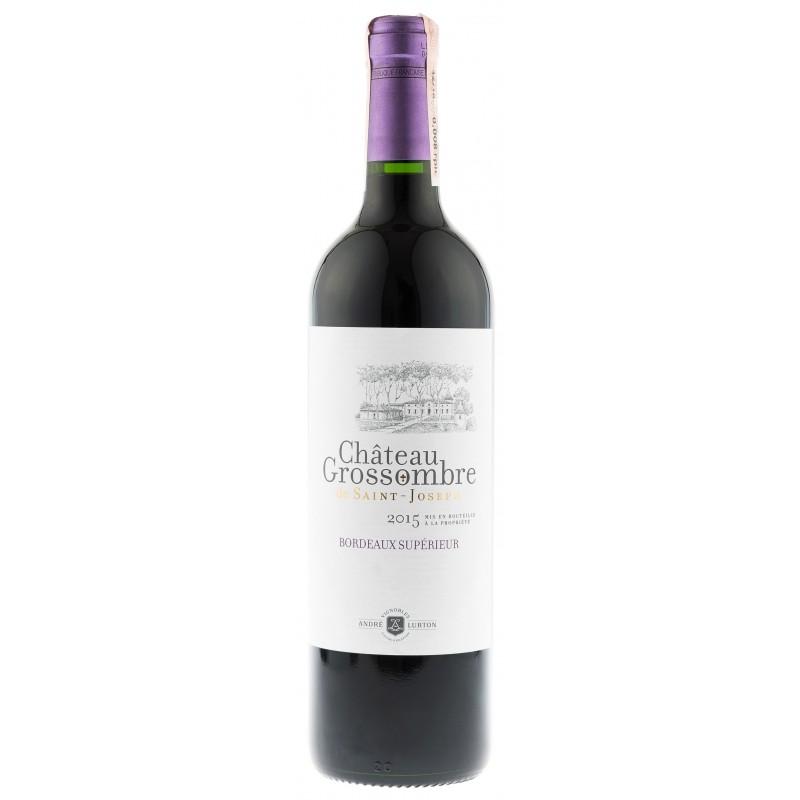 Купить Вино Chatau Grossombre De STJoseph  красное сухое Франция Бордо  Andre Lurton
