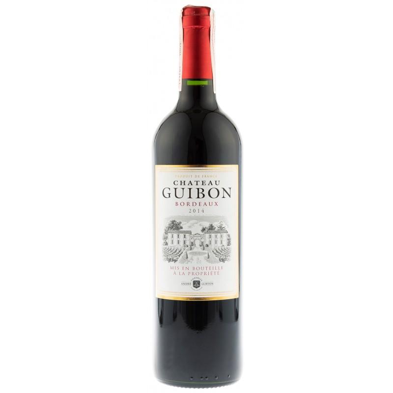 Купить Вино Chatau Guibon красное сухое Франция Бордо Andre Lurton