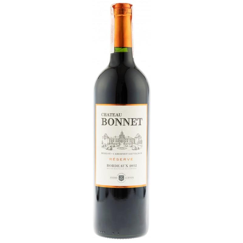 Купить Вино Chatau Bonnet Reserve Мerl.Cab.Sauv.  красное сухое Франция Бордо Andre Lurton