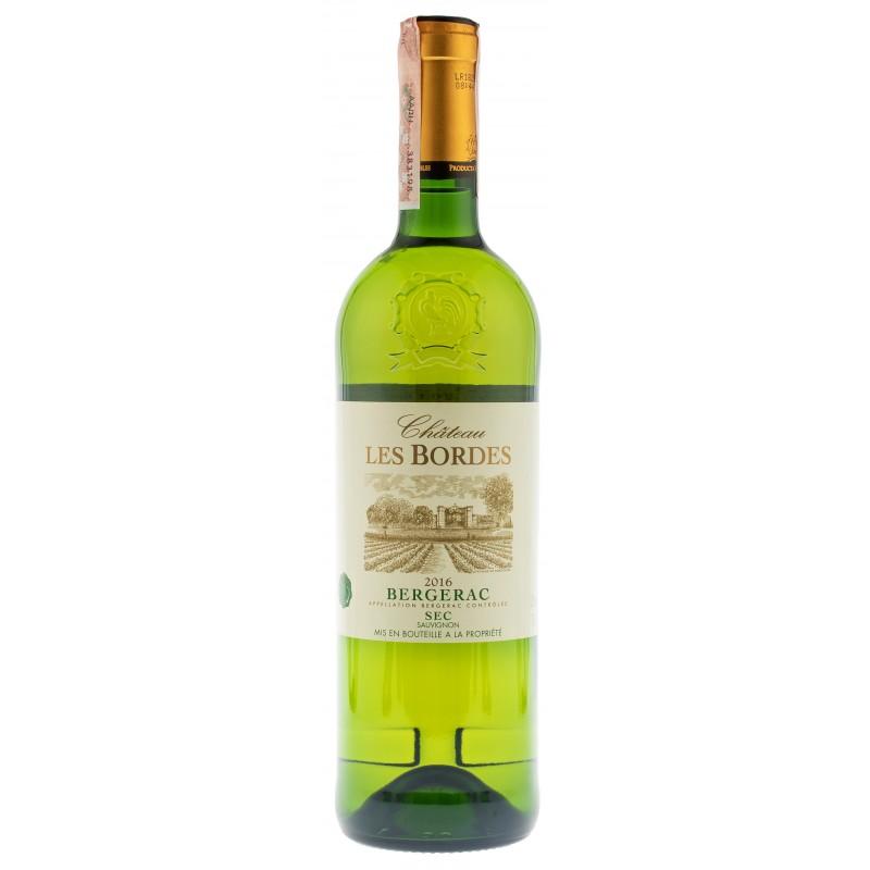 Купити Вино Chateau Bordes Bergerac  біле сухе Франція