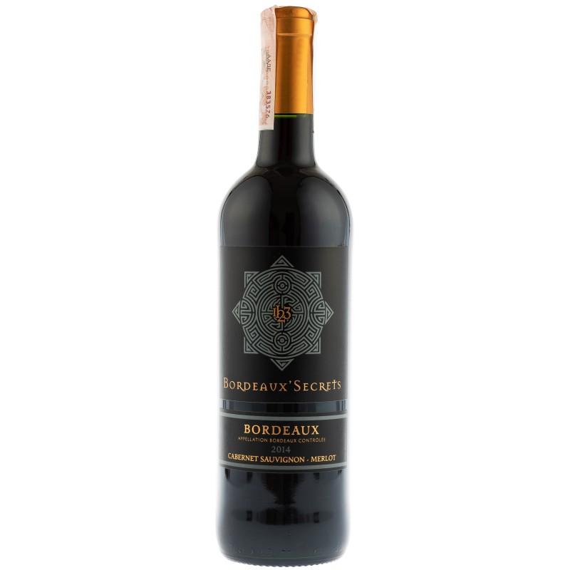 Купить Вино Bordeaux Secrets  красное сухое Франция Бордо Chateau