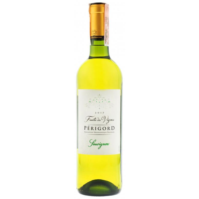 Купить Вино Fruits des Vignes Sauvignon du Perigord  белое сухое Франция Chateau
