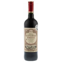 Купити Вино Chateau Bellevue Rougier червоне сухе  Франція Бордо