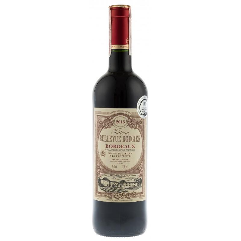 Купить Вино Chateau Bellevue Rougier  красное сухое Франция Бордо