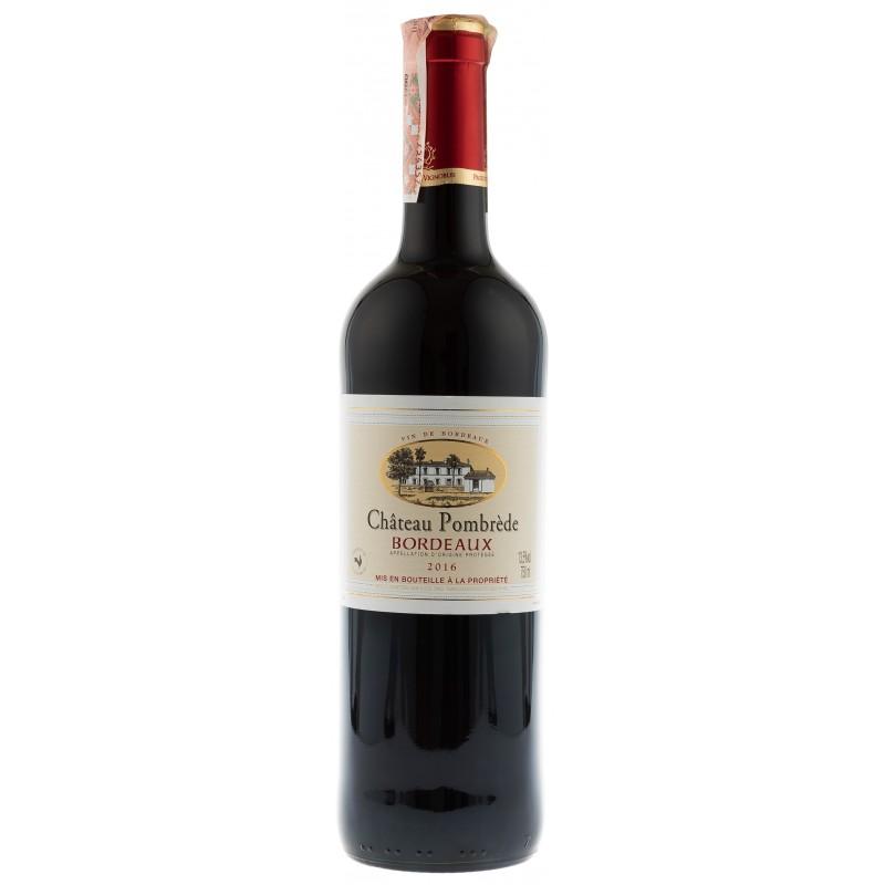 Купити Вино Chateau Pombrede  червоне сухе Франція Бордо