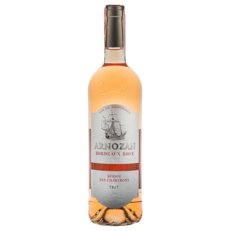 Купить Вино Arnozan Rose  розовое сухое Франция Бордо