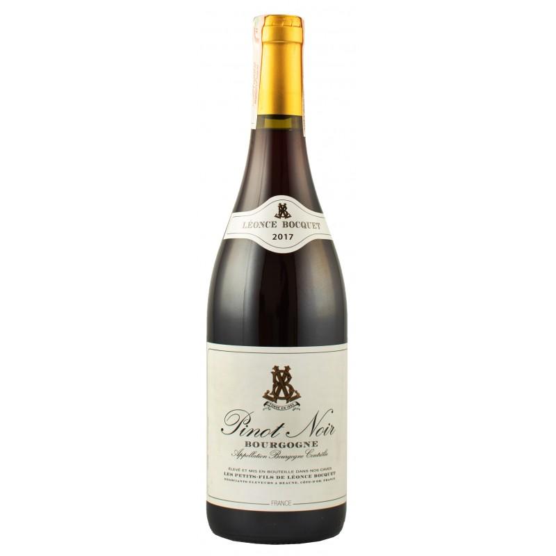 Купить Вино Bourgogne Pinot Noir красное сухое Франция Leonce Bocquet