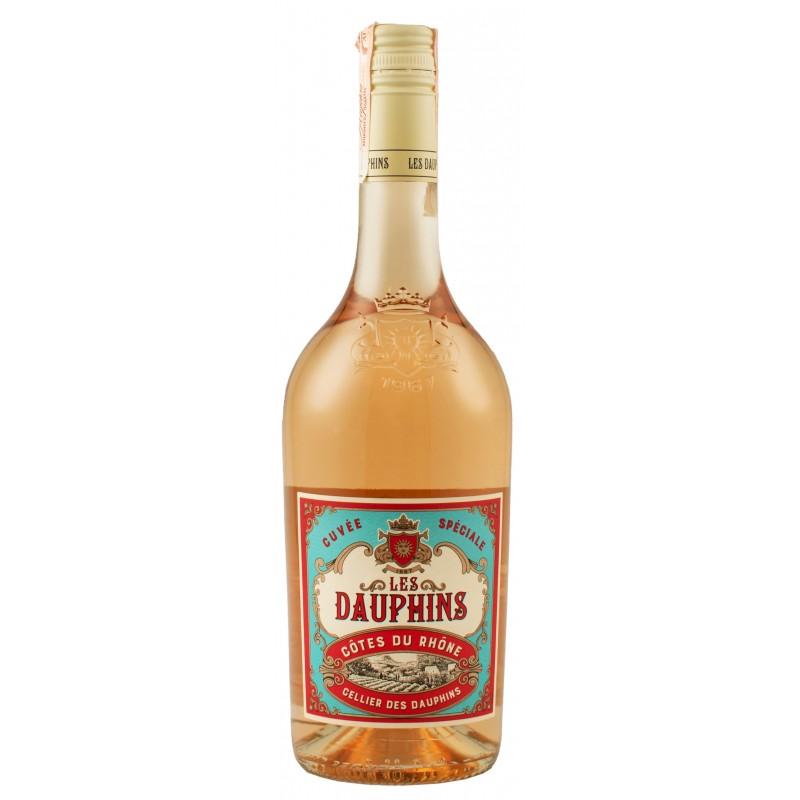 Купить Вино Cellier des Dauphins les Dauphin розовое сухое