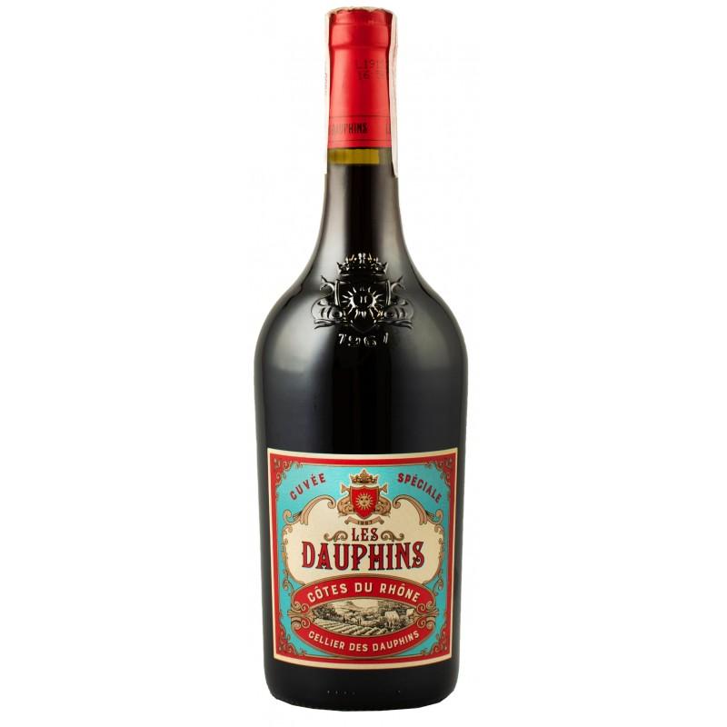 Купить Вино Cellier des Dauphins les Dauphin красное сухое