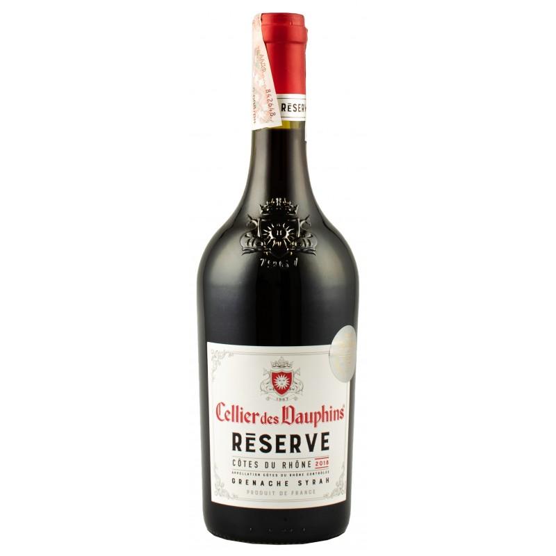 Купить Вино Cellier des Dauphins Reserve красное сухое