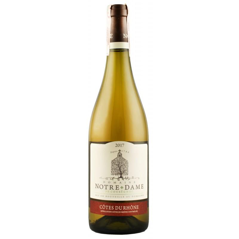 Купить Вино Notre Dame de Cousignac белое сухое 0,75л Франция