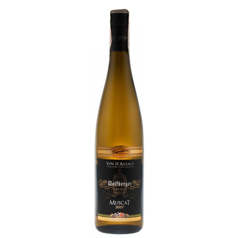 Купить Вино Muscat Signature белое полусухое Wolfberger