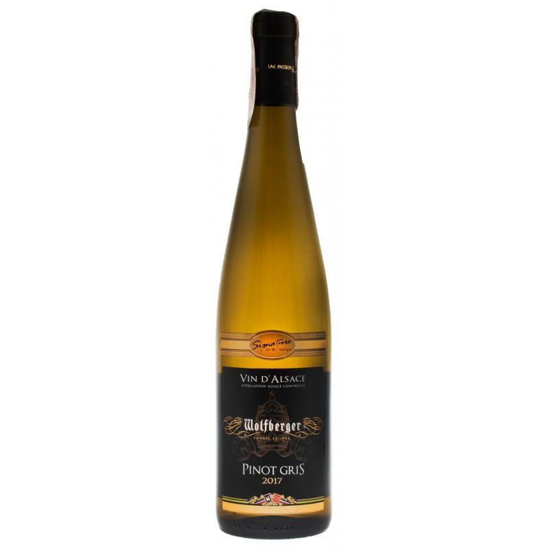 Купить Вино Pinot Gris Signature белое полусладкое Wolfberger