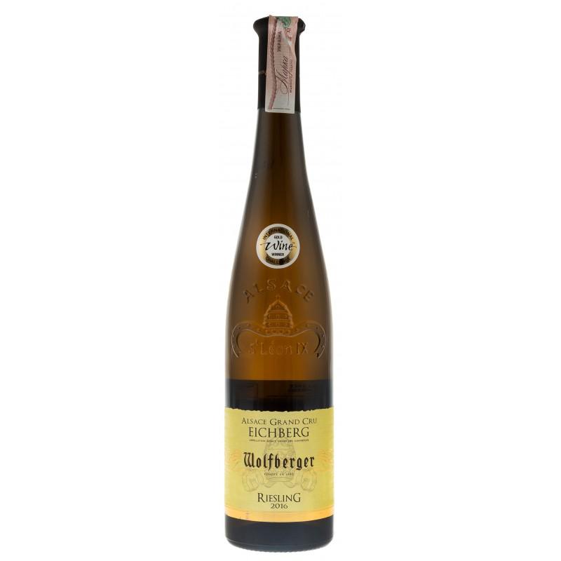 Купить Вино Riesling Grand Cru белое полусухое Wolfberger