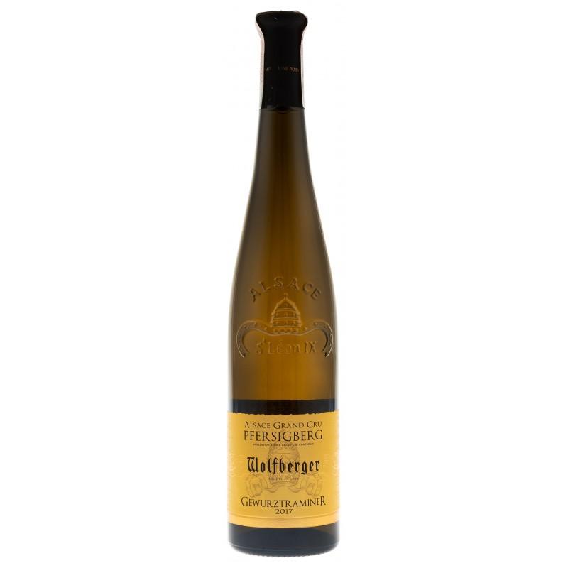 Купить Вино Gewurztraminer Grand Cru белое полусладкое Wolfberger