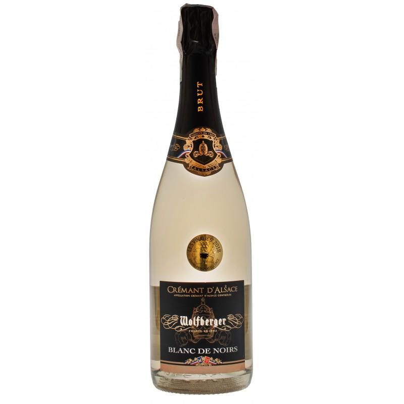Купить Вино игристое Cremant D`Alsace Blanc de Noirs белое брют Wolfberger