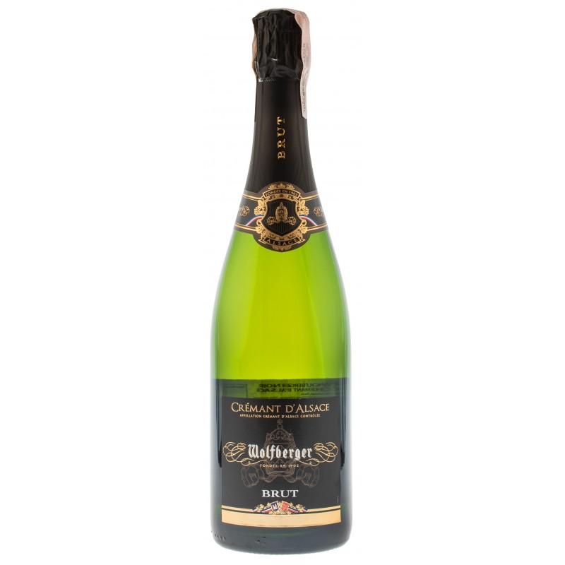 Купити Вино ігристе Cremant D`Alsace Brut біле брют Wolfberger