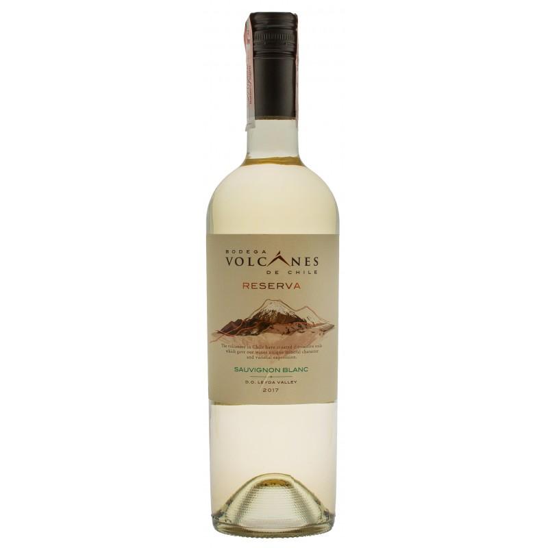 Купити Вино Reserva Sauvignon Blanc Volcanes біле сухе