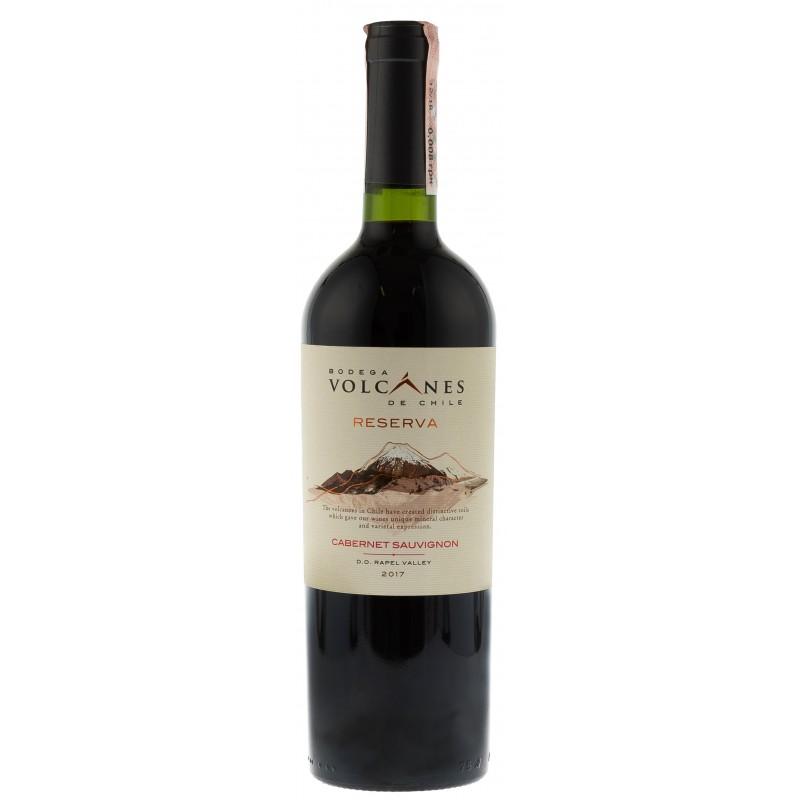 Купити Вино Reserva Cabernet Sauvignon Volcanes червоне сухе
