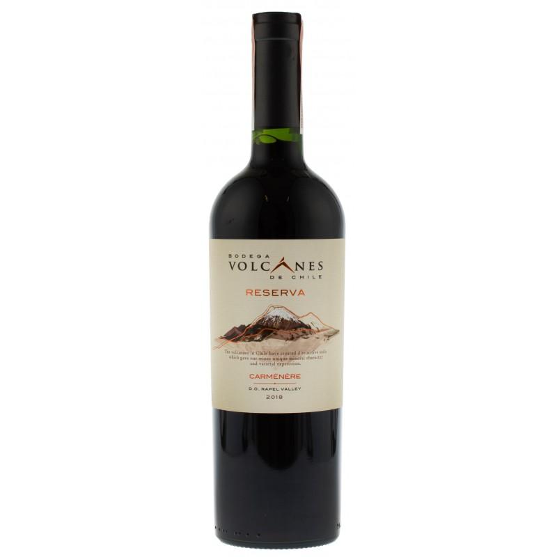Купить Вино Reserva Carmenere Volcanes красное сухое