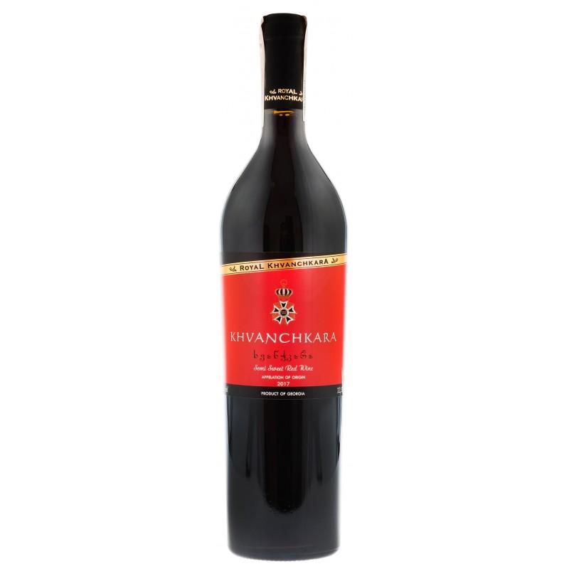 Купити Вино Хванчкара червоне напівсолодке Royal