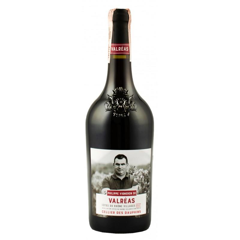 Купить Вино Cellier des Dauphins Valreas красное сухое