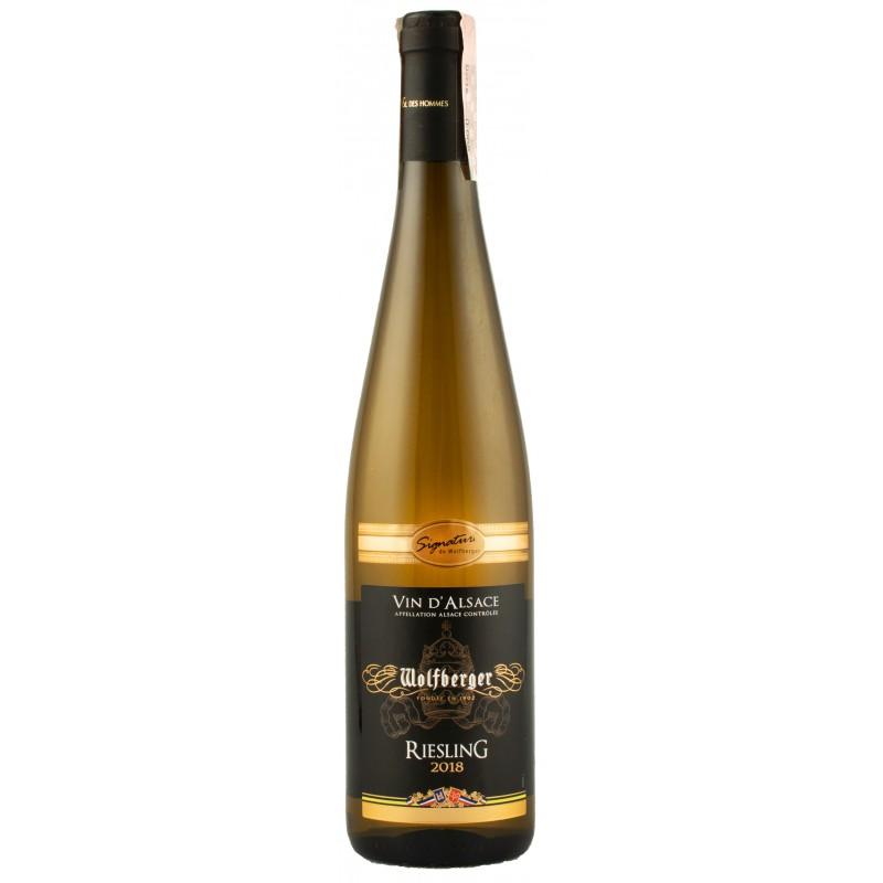 Купить Вино Riesling Signature  белое полусухое Wolfberger