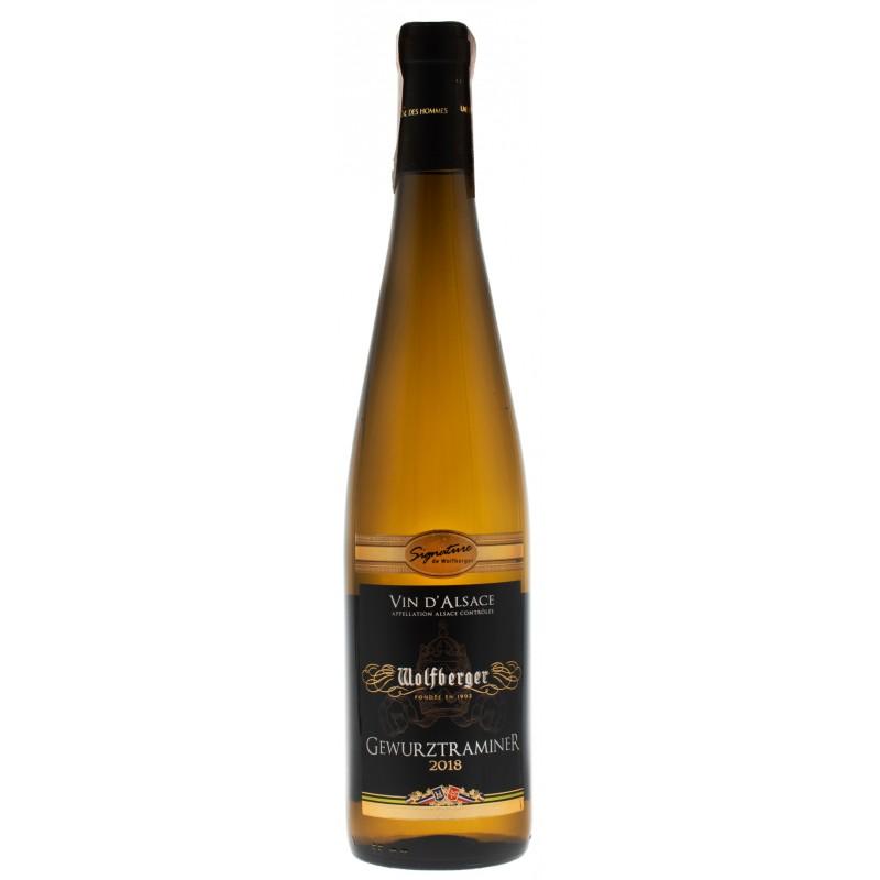 Купить Вино Gewurztraminer Signature 2012 белое полусладкое Wolfberger