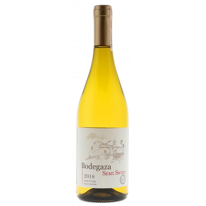 Купить Вино Chardonnay белое полусладкое Bodegaza