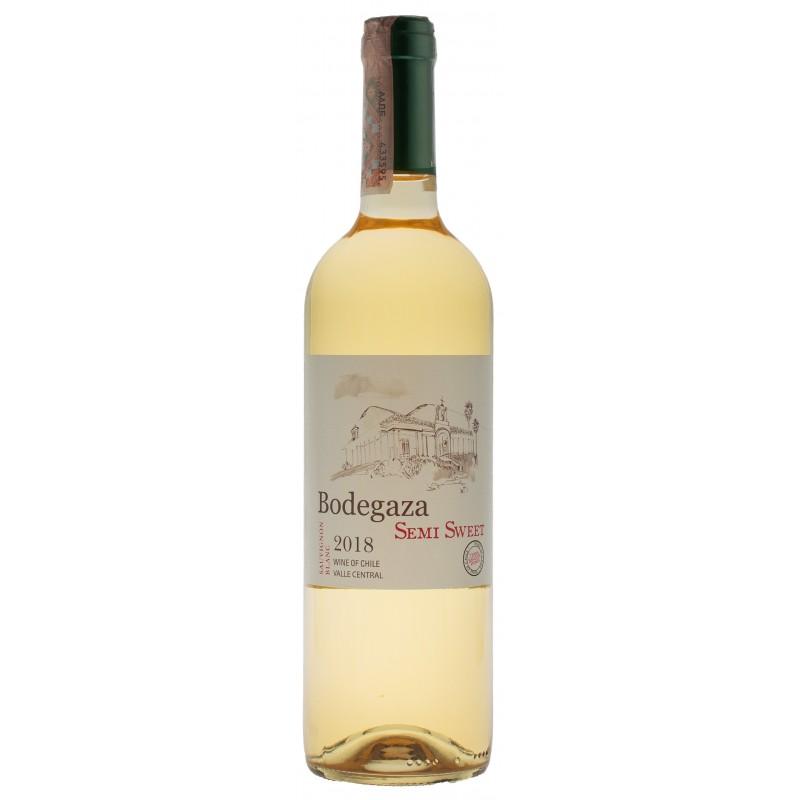 Купить Вино Sauvignon Blanc белое полусладкое Bodegaza