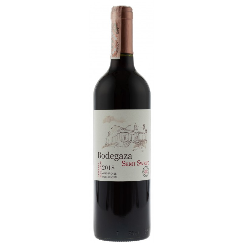 Купить Вино Cabernet Sauvignon красное полусладкое Bodegaza