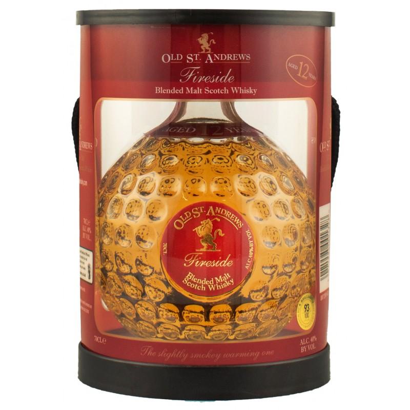 Купить Виски Fireside 12YO Blended Scotch 0,7л в коробке OSA