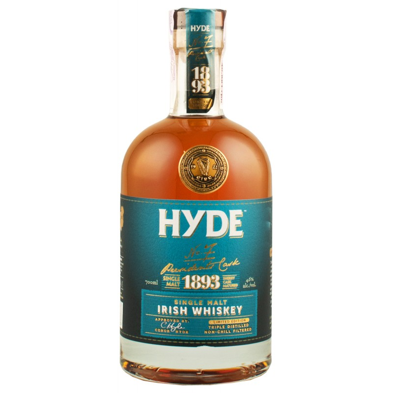 Виски Hyde 7 Sherry Cask 0,7л 46%