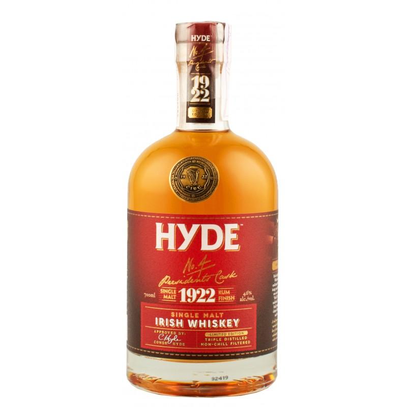 Виски Hyde 4 Rum cask 0,7л 46%