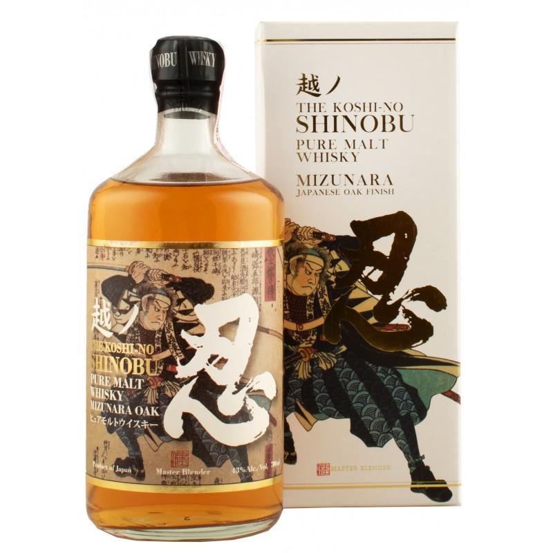 Виски Shinobu Pure Malt 0,7л 43% в коробке