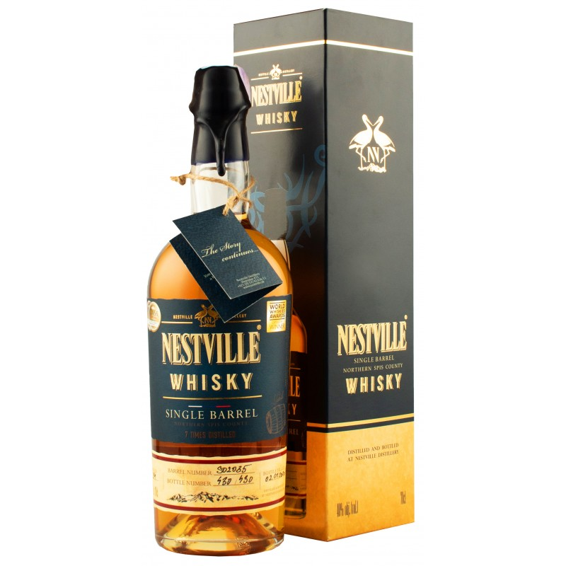 Виски Nestville Single Barrel 0,7л 40% подарочная коробка