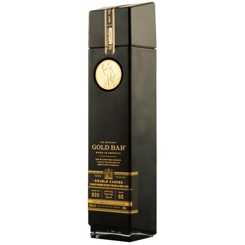 Бурбон Gold Bar Straight Texas 0,75л 46%