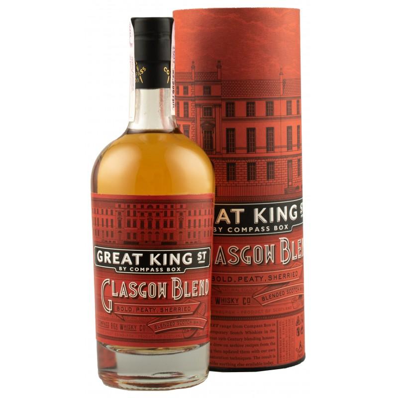 """Виски """"Great King Street Glasgow"""" 0,5л тубус"""