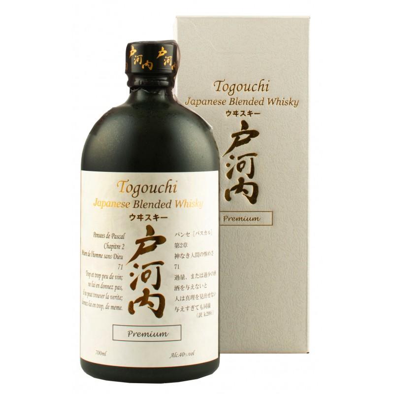 Віскі Togouchi Premium 0,7л 40% подарункова коробка