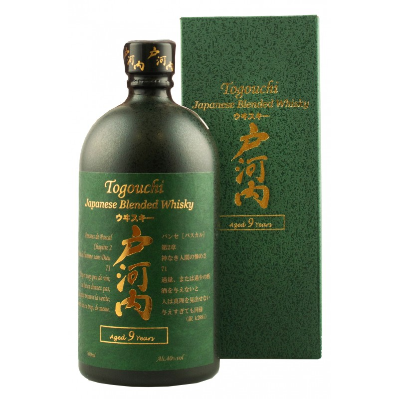 Виски Togouchi 9 YO 0,7л 40% подарочная коробка