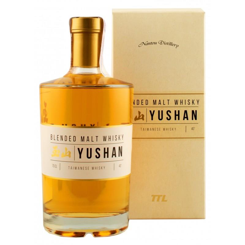 Виски Yushan Blended Malt 0,7л 40% в коробке