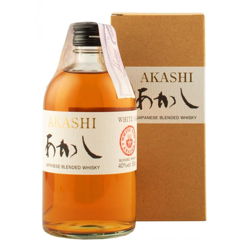 """Виски """"Akashi Blended"""" 0,5л 40%"""